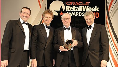 RetailWeek Awards Winner