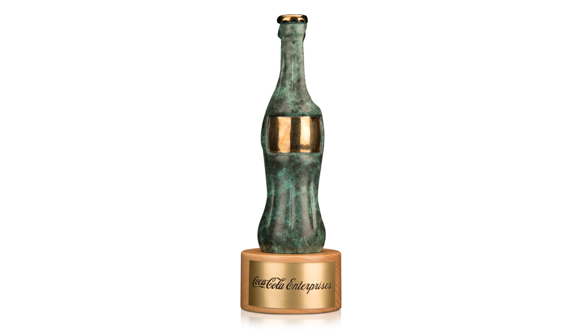Coca Cola Icon Trophy