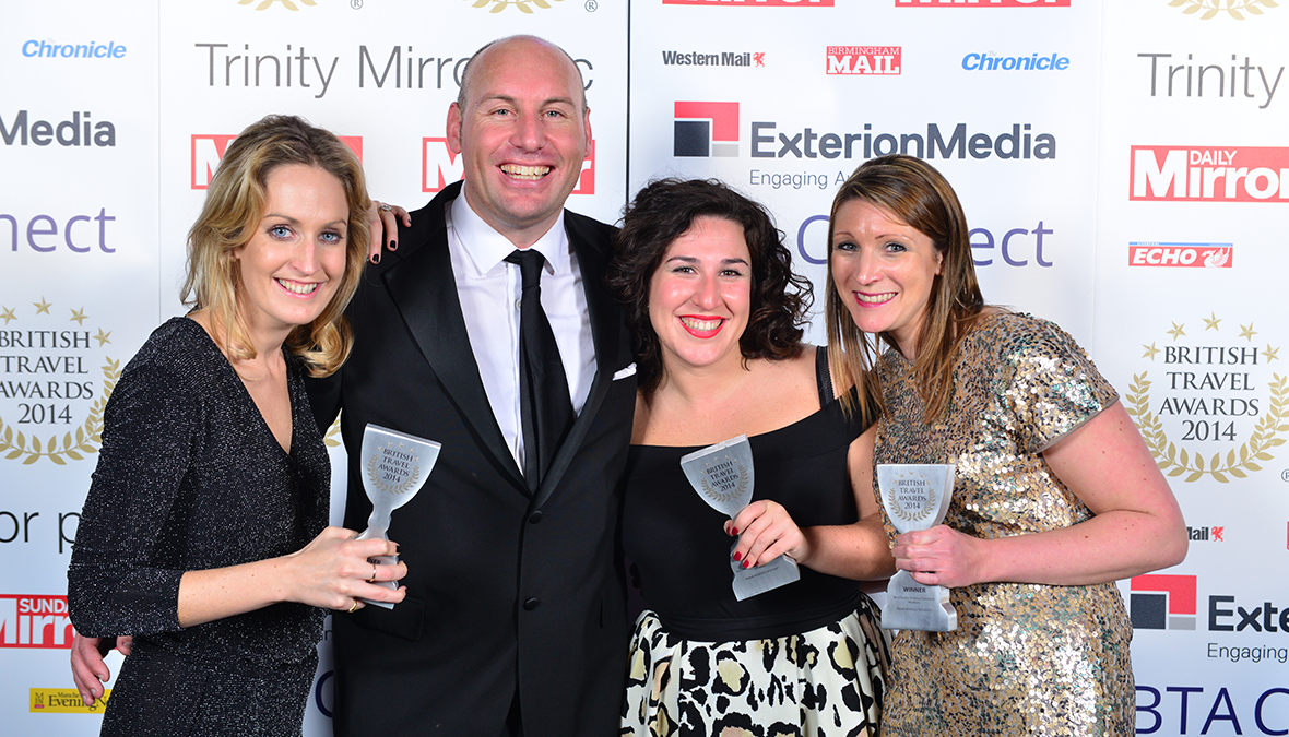 British Travel Awards winners 2014