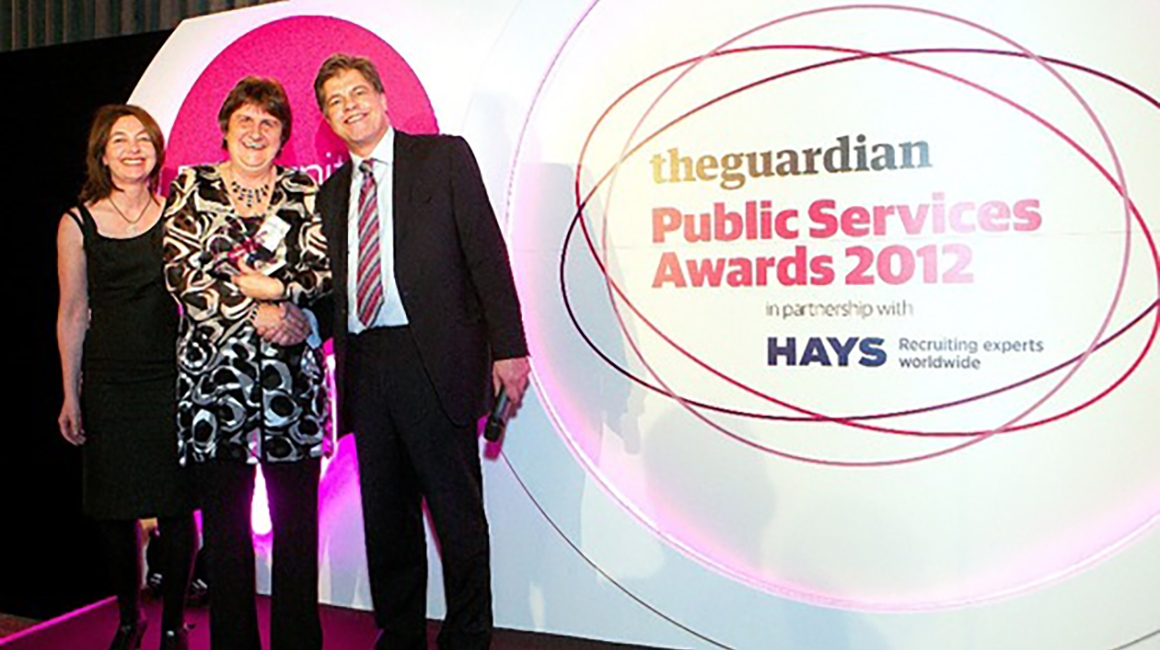 Guardian Public Services Awards Winner