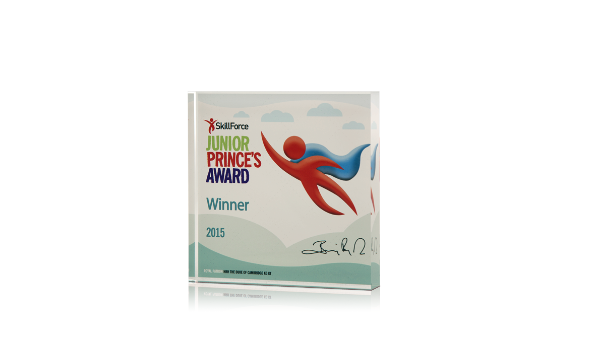 Skillforce Junior Princes Award Acrylic