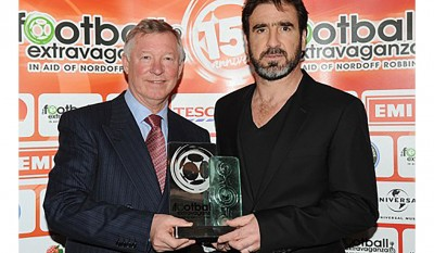 alex ferguson and eric cantona Football Extravanganza 2010