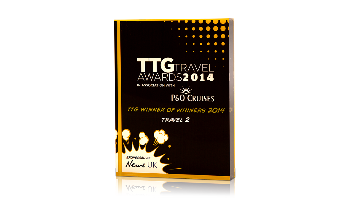TTG Travel Awards Yellow