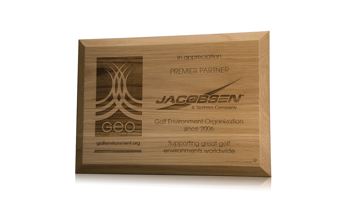 GEO Jacobsen Plaque