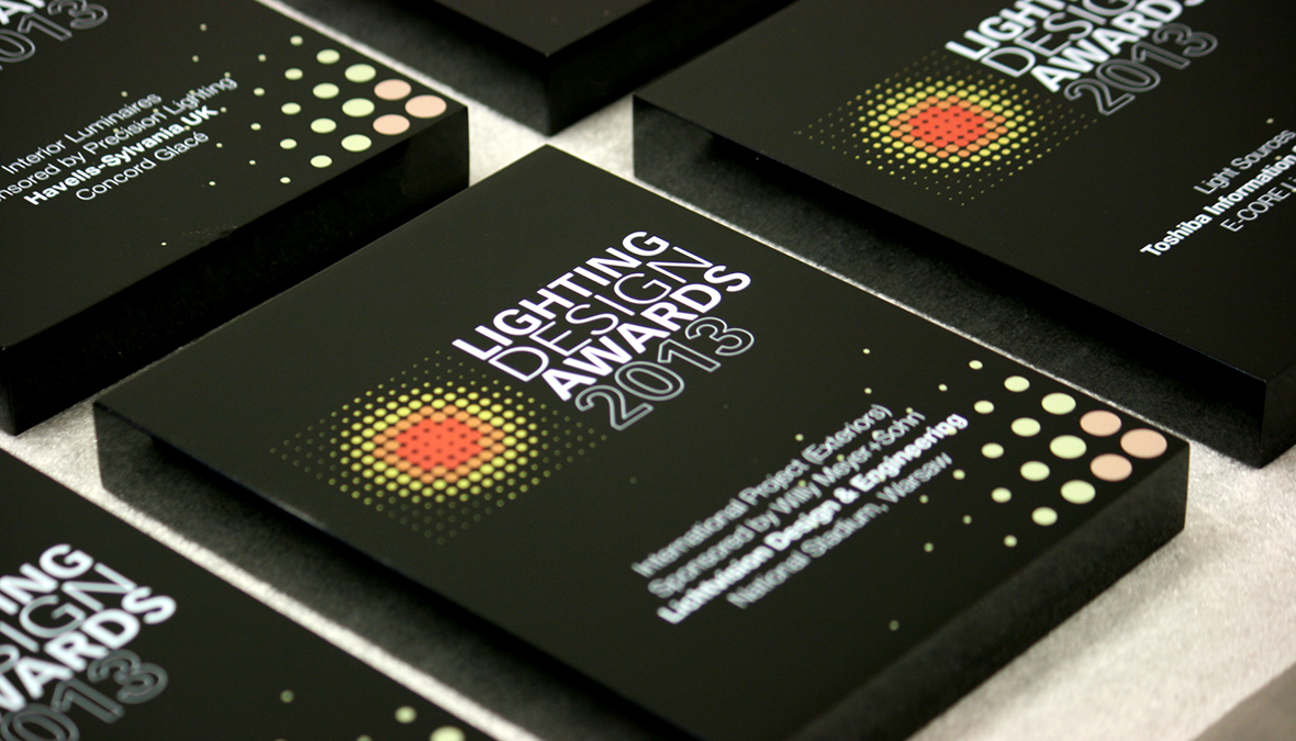 Lighting Design Awards 2013 Assembly