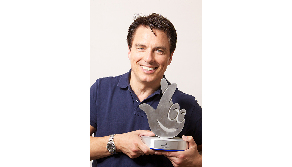 John Barrowman with National Lottery Awards
