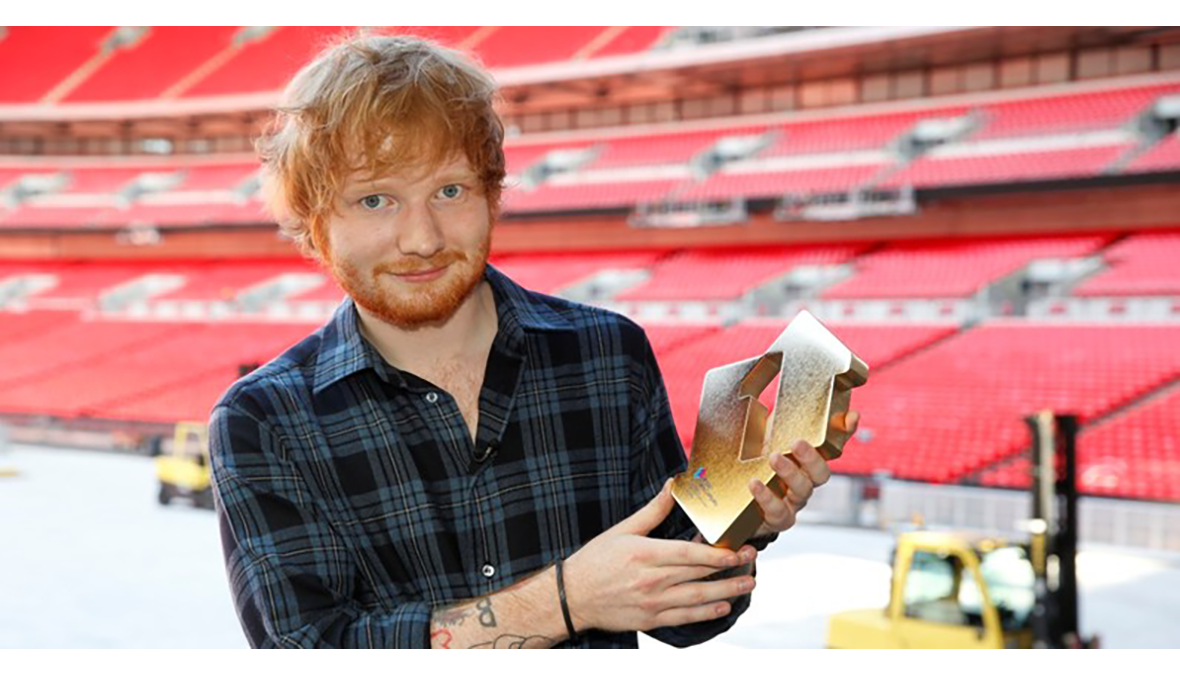 Official Chart Ed Sheeran