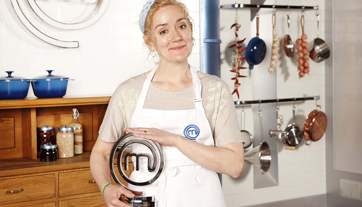 Celebrity masterchef winner 2014