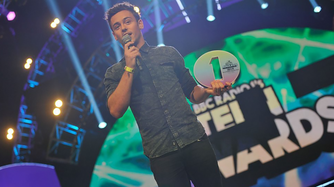 Radio 1 Teen Award Tom Daley