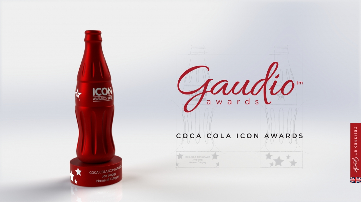 Coca Cola Icon Awards designed by Gaudio