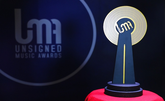 Unsigned Music Awards Trophy