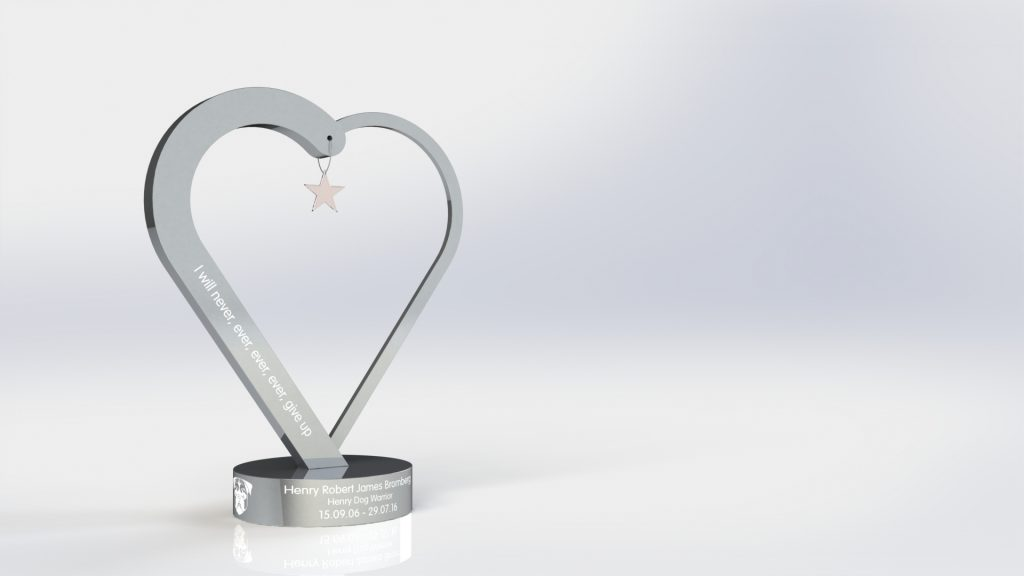 Bespoke Metal Trophy