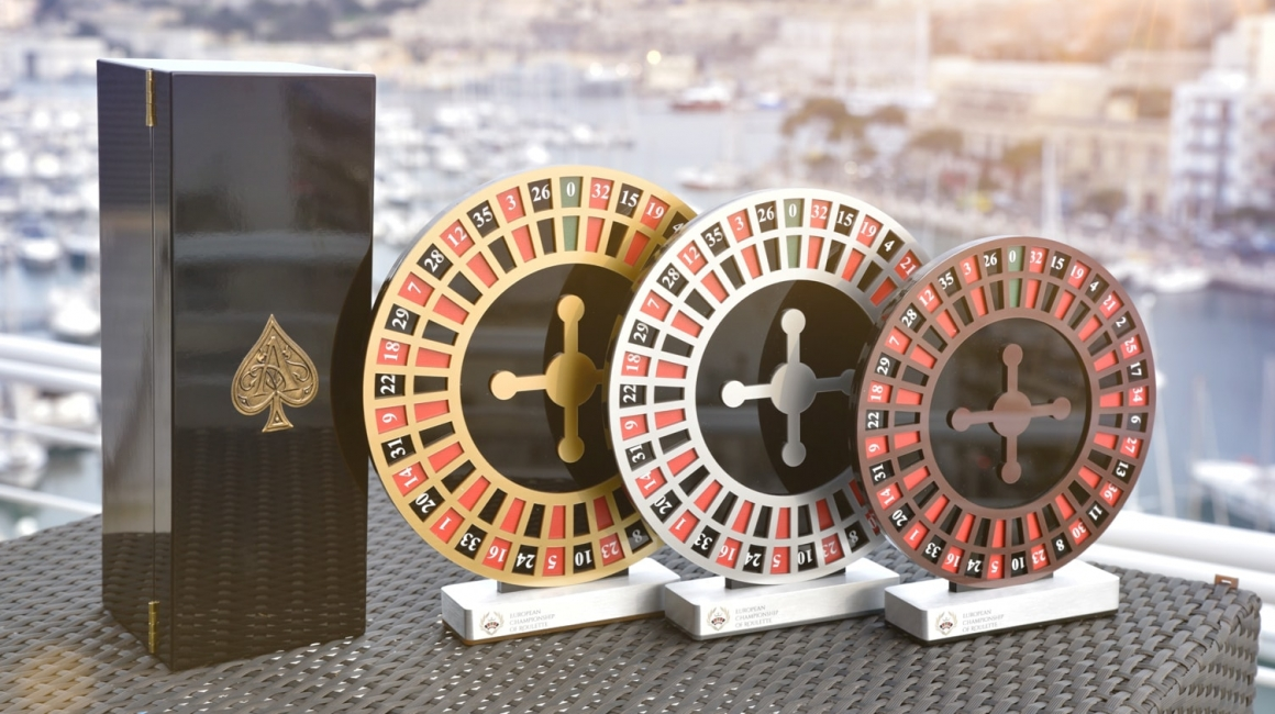 European Championship of Roulette Trophy
