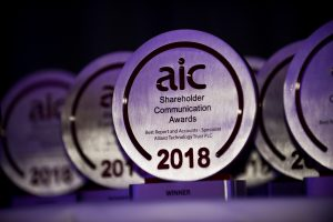 AIC Shareholder Communication Awards
