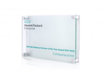 Hewlett Packard Plaque