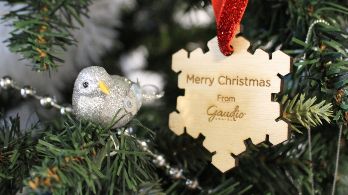 Gaudio Christmas Ornament