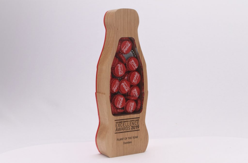 sustainable wooden trophy